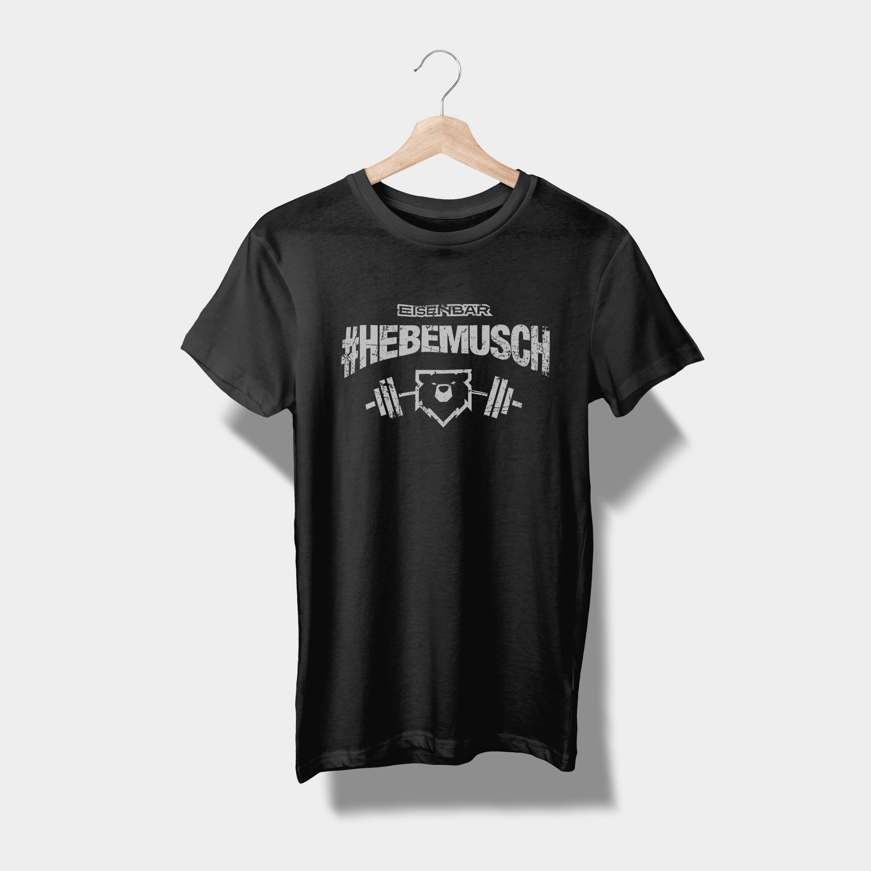 T-Shirt #HEBEMUSCH