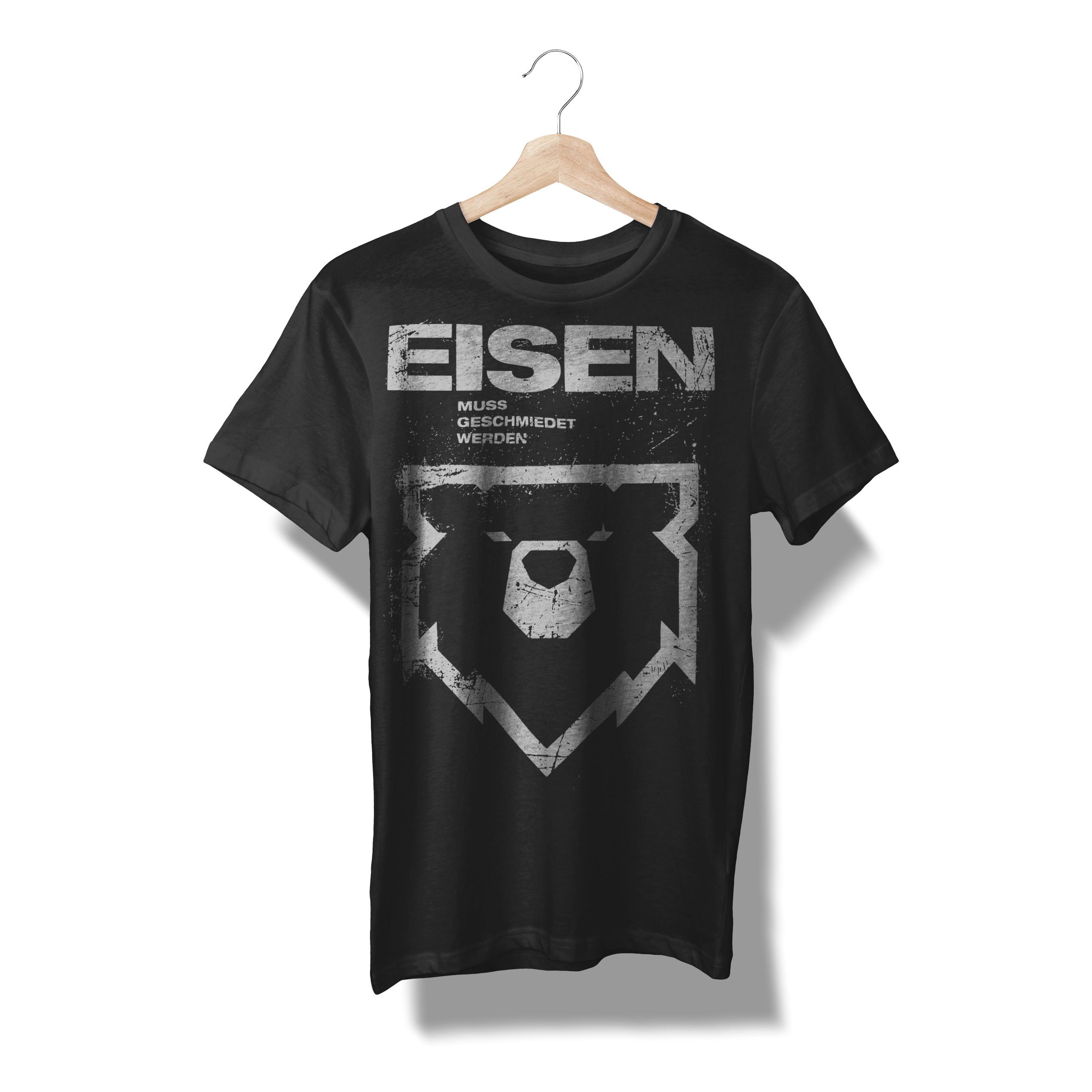 """T-Shirt """"Eisen muss geschmiedet werden"""""""