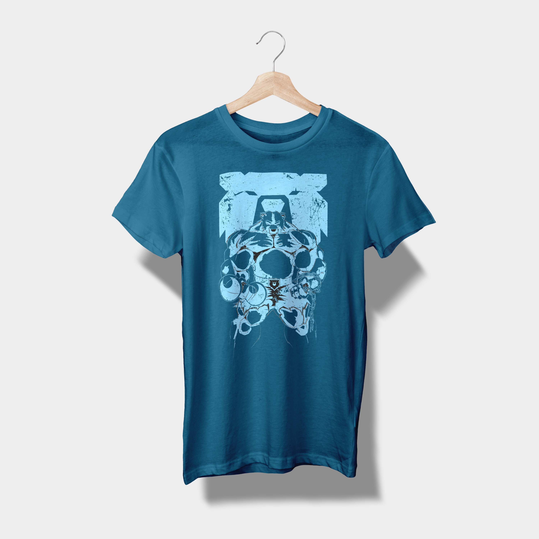 T-Shirt Petrolbär